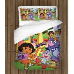 Setul de pat pentru copii Dora Explorer