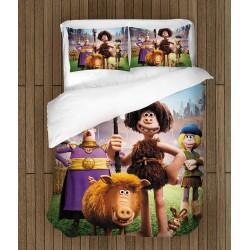 Lenjerie de pat 3D pentru copii - Early Man