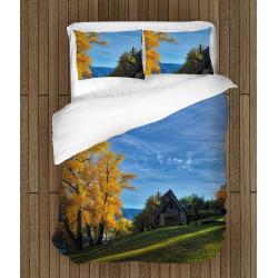 Lenjerie de pat cu motive de toamnă - Autumn
