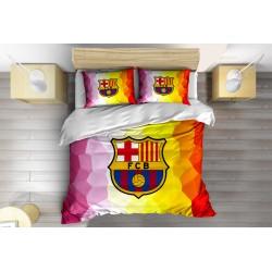Set de pat Fotbal FC Barcelona Art