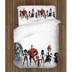 Lenjerie de pat pentru copii Incredibilii - Incredibles