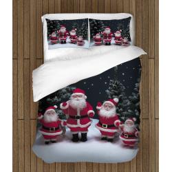 Lenjerie de pat de Crăciun Figurine Moș Crăciun - Santa Claus Figurines