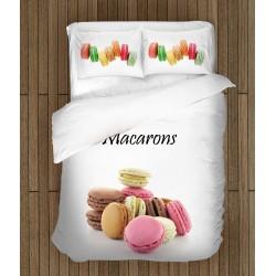 Set de pat Macarons franțuzești - French Macarons