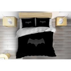 3D Set lenjerie de pat Liliac - Gray Bat