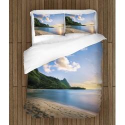 Set de pat plin de prospețime Hawaii