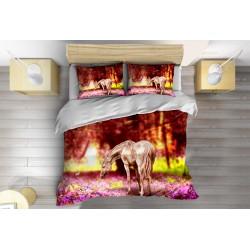 Lenjerie de pat Cal primăvara- Horse in Spring
