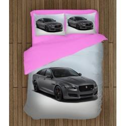 Lenjerie de pat cu mașină Jaguar