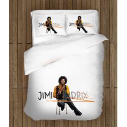 Set lenjerie de pat Jimi Hendrix