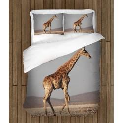 Set de pat Girafă în deșert- Giraffe in the Desert