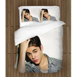 Set de pat Fan Justin Bieber Young