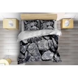 Lenjerie de pat elegantă Pietre - Stones