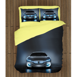 Lenjerie de pat cu mașini Hibrid - Car Hybrid