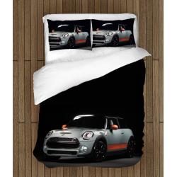Lenjerie de pat cu mașini Mini Cooper - Mini Cooper