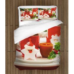 3D Lenjerie de pat Motive de Crăciun - Christmas motives