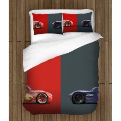 Lenjerie de pat McQueen Mașini - McQueen Cars