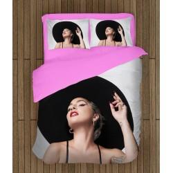 Lenjerie de pat 3D Lady Gaga Hat