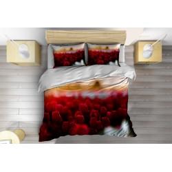 Lenjerie de pat superbă Lalele- Tulips