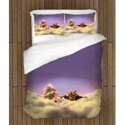 Set cearșafuri de pat Epoca de gheață - Ice Age