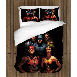 Lenjerie de pat Liga Dreptății - Justice League