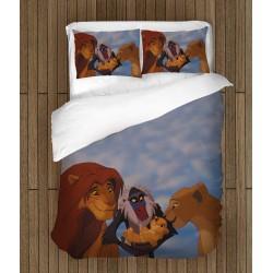 Lenjerie de pat pentru copii Regele Leu - Lion King