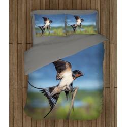 Set cearșafuri de pat Rândunică- Swallow