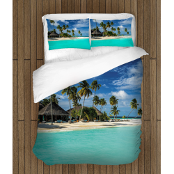 3D Set lenjerie pat romantică Maldives - Maldives