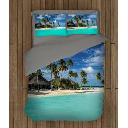 3D Set lenjerie pat romantică Maldives - Maldives