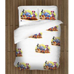 Set de pat Mickey și Minnie