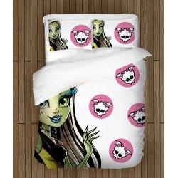 Lenjerie de pat modernă pentru copii - Monster High
