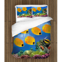Lenjerie de pat de aventură Elemente marine- Sea Motives