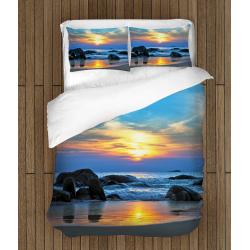 Lenjerie de pat temă romantică Peisaj de mare - Sea Landscape