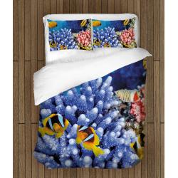 Lenjerie de pat frumoasă Adâncul mării - Bottom Of The Sea