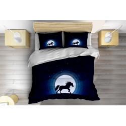 3D Lenjerie de pat Alergare de noapte - Night Running