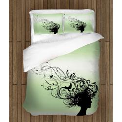 Set lenjerie de pat Iubește natura - Love nature