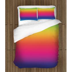 3D Lenjerie de pat colorată Ombre - Ombre Effect