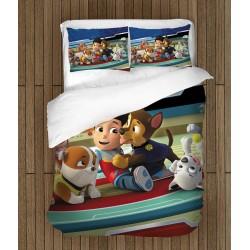 Set de pat pentru copii Patrula Cățelușilor- Paw Patrol