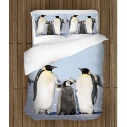 Lenjerie de pat Pinguini - Pinguins