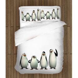Cearșafuri Pinguinii din Madagascar -Penguins from Madagascar