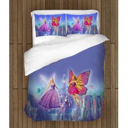 Cearșafuri pentru copii Prințesele zâne - Fairy Princesses