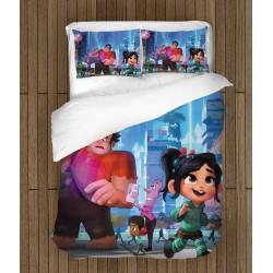 Set de pat pentru copii Ralph rupe netu` - Wreck-It Ralph