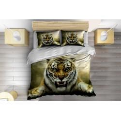 Set lenjerie de pat Tigru furios- Furious Tiger
