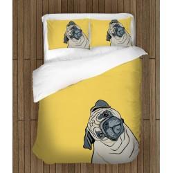 Set de pat de efect Cățel pictat - Painted Dog