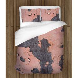 Lenjerie de pat interesantă Perete roz - Pink Wall