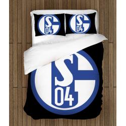 3D Lenjerie de pat Fotbal FC Shalke - Shalke