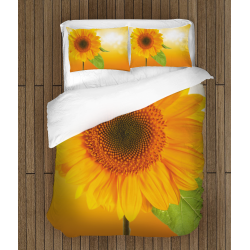 Set lenjerie de pat Floarea de Soare - Sunflower