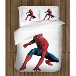Set de pat pentru copii Omul Păianjen - Spiderman White