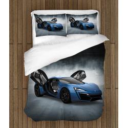 Lenjerie de pat Mașină de curse - Race Car