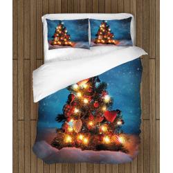 Lenjerie de pat Crăciun Brad strălucitor - Shiny Christmas Tree