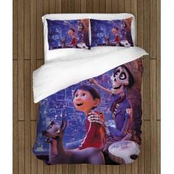 Cearșafuri de pat pentru copii Secretul lui Coco