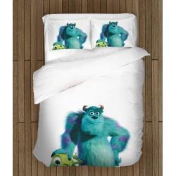 Set de pat pentru copii Compania Monștrilor - Monsters Inc.